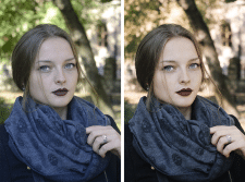 Обработка авторской фотографии