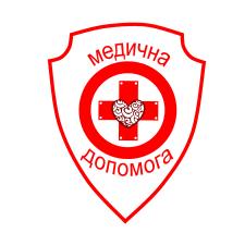 """Лого волонтёрской организации  """"Медична допомога"""""""