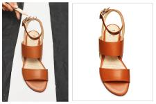 ретушь обуви