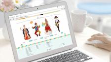 Дизайн и разработка сайта для костюмерной