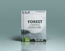 Флаер. Camping