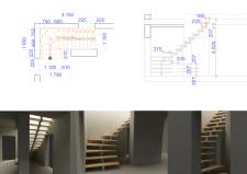 Разработка лестницы