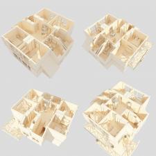 Визуализация и моделирование жилья для застройщика