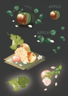 Фрукты, виноград....