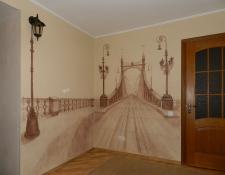 Роспись в спальне, Украина