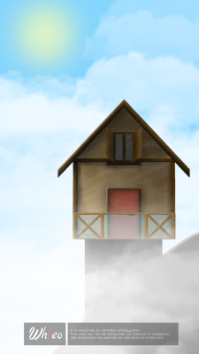 Дом на горе (день)