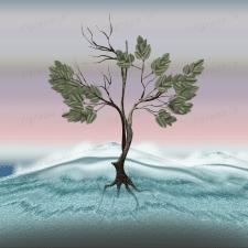 """Дерево для коллажа """"Дом"""" 1"""