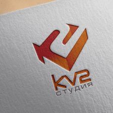 """Лого танцевальной студии """"KV2"""" (Киев)."""
