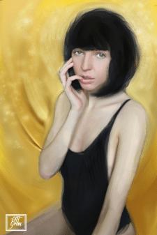 Digital art grom