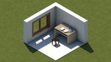 Изометрическая комната