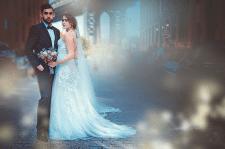 Художественная обработка свадебного фото