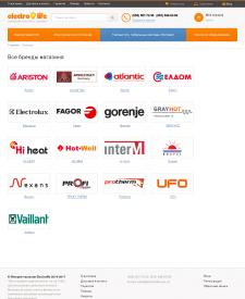 Оптимизация категорий брендов интернет магазина