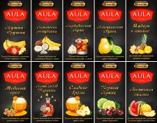 этикетки на чай AulaTea