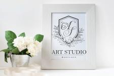 Нейминг + логотип для бьюти студии