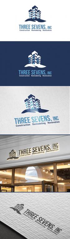 """Логотип для строительной компании """"777"""""""
