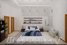 частный дом - спальня
