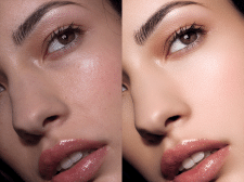high-end beauty retouching
