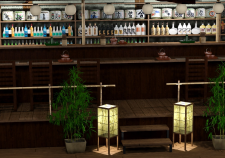 Кафе в японском стиле