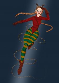 girl of Christmas