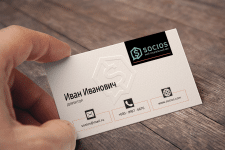 визитка для рейтингового агентства