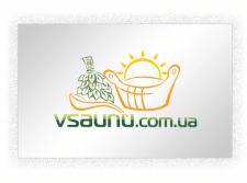 Логотип для интернет-ресурса Vsaunu.com.ua