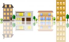 Векторные дома