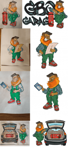 Character for car service