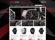 MensWatch - Интернет магазин на PrestaShop