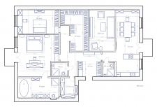 Розробка плану, 165 кв.м