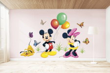 создание наклейки в детскую комнату