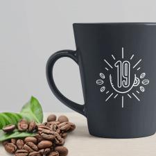 Логотип кофейни