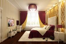 Спальня (Визуализация)