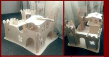 Замок из фанеры для детей 3 - 5 лет.