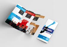 Информационный буклет для фестиваля музыки U-Park