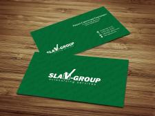 Визитка для Slav-group