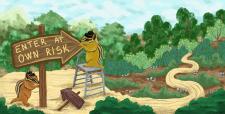 Иллюстрация к детской книге, печать на Amazon KDP