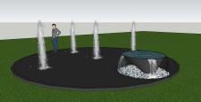 Визуализация фонтана