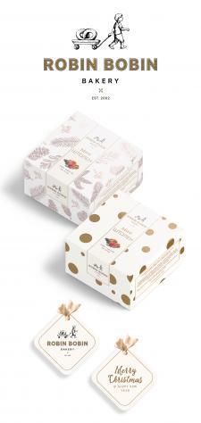 Дизайн новогодней упаковки для мини-штоленов