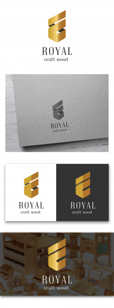 Логотип Royal craft wood