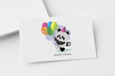 "Logo ""Нappу Panda"""