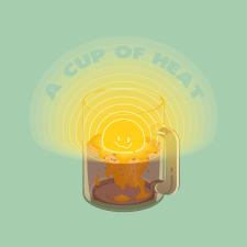 """Иллюстрация """"Чашка тепла"""""""