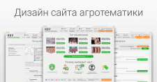 Дизайн сайта агротематики