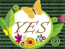 Пробный логотип для сайта yes.ua