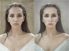 Портрет, ретушь, замена фона