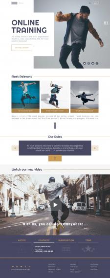 Online dance school