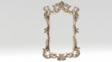 рама для зеркала лепнина