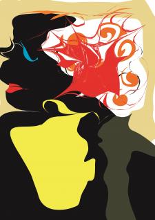 Создание иллюстрации с девушкой