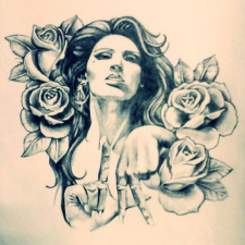 Леди и розы