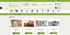 Наполнение товарами магазина Mebeline.com.ua