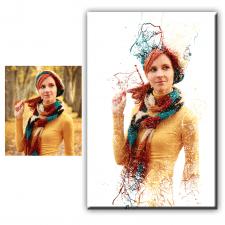 Портретная обработка фото